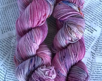 "Superwash Wool/Nylon Blend Sportweight Yarn in ""Synthberry Shortwave Confetti"" 274 yards each skein"
