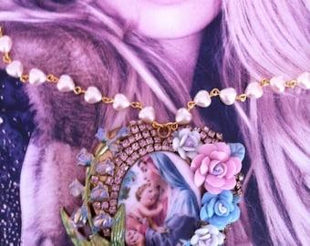 "Beautiful necklace ""Eternal love"""