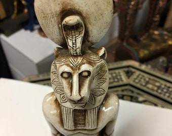 Amazing Unique Egyptian  Goddess Sekhmet Statue Made In Egypt