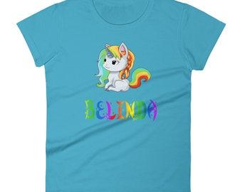 Belinda Unicorn Ladies T-Shirt