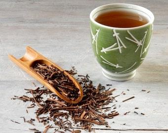 Kukicha Twig Green Tea • Organic • 7 oz. Kraft Bag • Japanese Roasted Twig Loose Leaf Tea