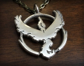 Pokemon Go Team Valor 3D Printed Stainless Steel Pendant and Keychain
