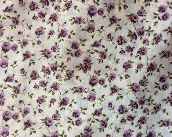 Tana lawn fabric from Liberty of London, Nina 0076J