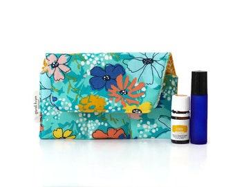 essential oil pouch essential oils travel bag essential oil storage case essential oil case essential oil bag holds 3 oils