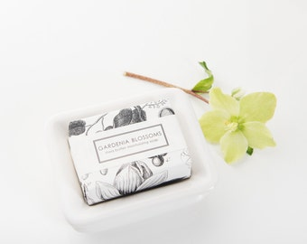 Gardenia Shea Butter Soap - Bath Sized Bar