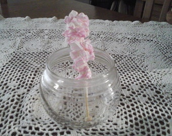 White chocolate peppermint stirrers