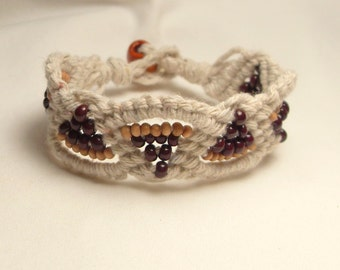 natural cotton fan bracelet