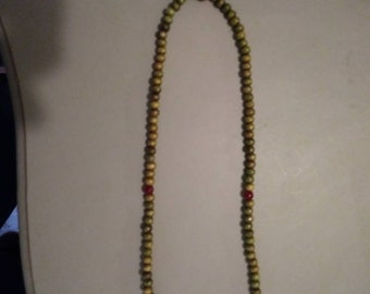 Mala bead necklace from India