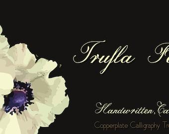 TruflaTrue Type Font | Digital Font | INSTANT DOWNLOAD |