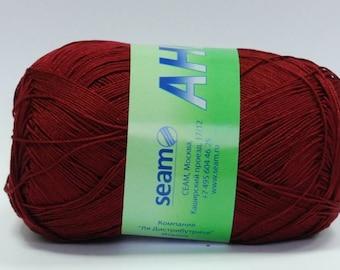 Crochet thread size 10, mercerized cotton, ANNA, 100g/ 579 yds #313