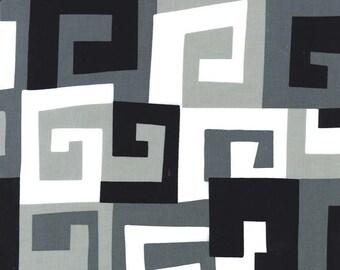 Michael Miller Fabrics - Maze in Black 731