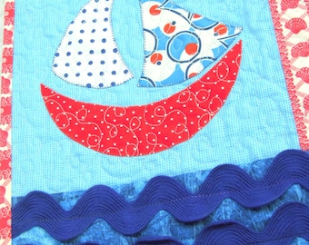 Sailboat Quilt Pattern: Permanent Wave