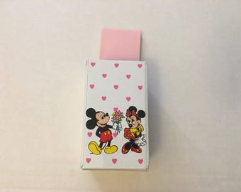 Vintage 90s Mickey and Minnie stationary