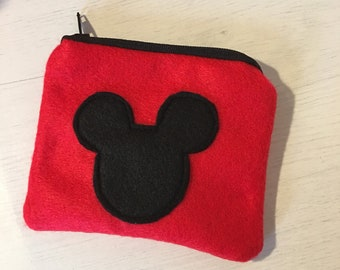 Mickey Mouse coin purse