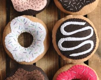 Felt Donuts - Felt Food for Pretend Play