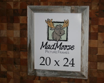 "20x24 BarnWood [Thin x 3""] Picture Frame"
