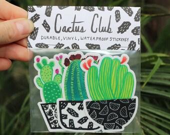 Cactus Sticker Pack