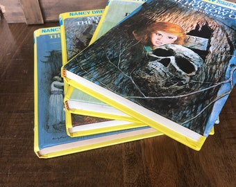 Nancy Drew Book Collection 1995 and 1996 Hardcovers