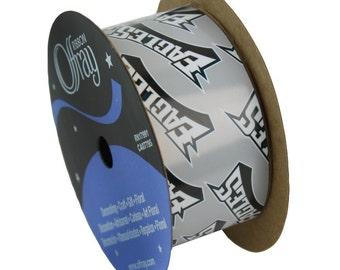 "1-5/16"" NFL Philadelphia Eagles Ribbon, 12 foot spool , Licensed NFL Offray Ribbon"