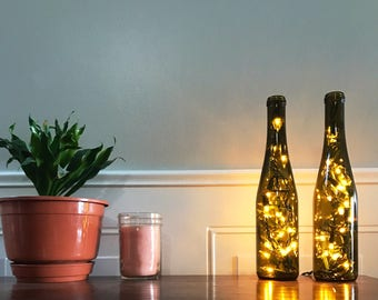 Mini Wine Bottle Light