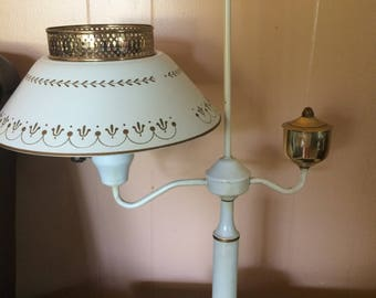 Vintage  Lamp, Home and Living, Vintage Lamps, Electric Lamps,Tall Desk Lamp Student Lamp, Home Decor,Parlor Lamp,Den Lamp,Bedroom lamp.