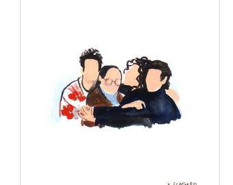 Tiny Seinfeld Print
