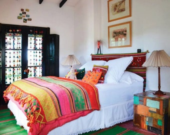 FRAZADA ARGENTINA // boho rug, peruvian rug, bolivian rug, peruvian blanket, south american rug, bolivian frazada, frazadas, bolivia, peru
