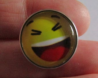 pressure smile, pressure face, pressure 20mm in diameter, for jewelry, accessory, various models