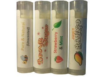 Lip Balm, Lip Balms,  Natural Lip Balm