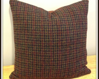Harris Tweed Pillow Cover