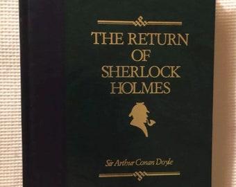 The Return of Sherlock Holmes, by Sir Arthur Conan Doyle, hardback