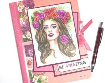 Journal, Writing Journal, Unique Journal, Unique Writing Journal, Notebook Journal, Diary, Unique Diary, Journal for Her, Gift Journal, Gift
