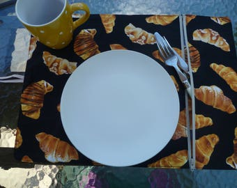 lunch placemat, with compartment, growing