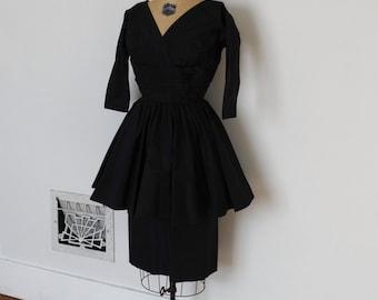 ON SALE - Vintage 50s Dress - 1950s Party Dress - The Victoria