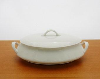 Vintage Whiteware Tureen