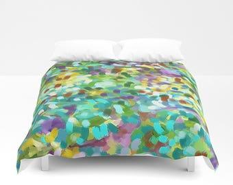 Dots Bedding, Queen Duvet Cover, King Bedding, Bed Cover, Twin Duvet, Abstract Bedding, Queen Bedding, King Duvet, Full Bedding
