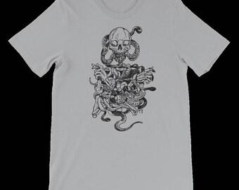 Skull and Snakes Tee Shirt