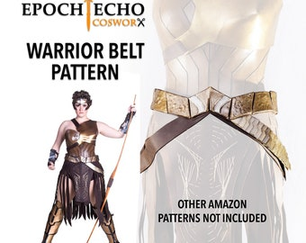 Amazon Warrior Belt Pattern - Digital Download