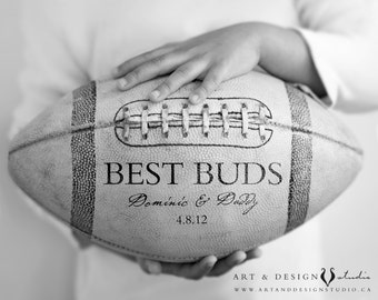 Custom Fathers Day Gifts, Gifts Him Under 25, Dad Gifts, Personalized Gift for Him, Grandfather Gift, Football Sports Art Print Poster
