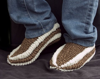 Phentex slippers, slippers, slippers woman, slippers man, knitted slippers, womens slippers, mens slippers, slippers stripes, two colors