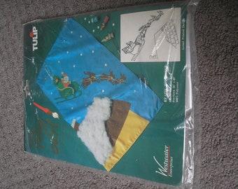 Santa Claus Flag paint kit