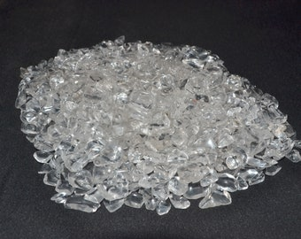 Natural Clear Quartz Chips Pack of 250 Grams