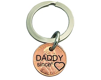 Daddy Engraved Penny - Gift for Him - Daughter Gift For - Engraved Penny - Son Gift For - New Daddy - Best Daddy