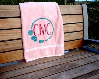 Personalized Honeymoon Towel - Initials / Monogram
