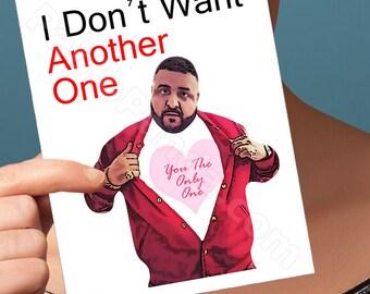 Boyfriend Gift    Dj Khaled Card   Funny Birthday Card  Dj Khaled Birthday Birthday Card  Boyfriend Gift Anniversary Gifts Gifts For