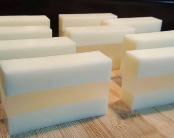 Bulk Coconut Soap- 9 Bars