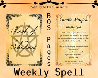 BOS Pages - Weekly Spell