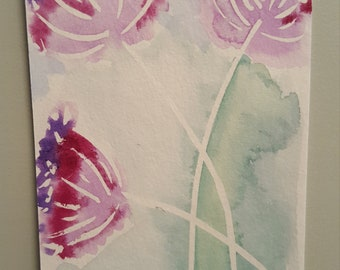 Pink and Purple flowers 1