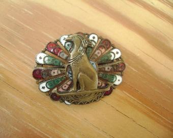egyptian revival brooch from twenties or thirties