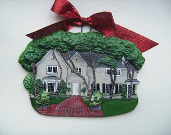 Custom listing for- Szymanski- one Custom House Ornament-